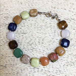 NEW JAY KING DTR Multi-Stone Sterling Bracelet
